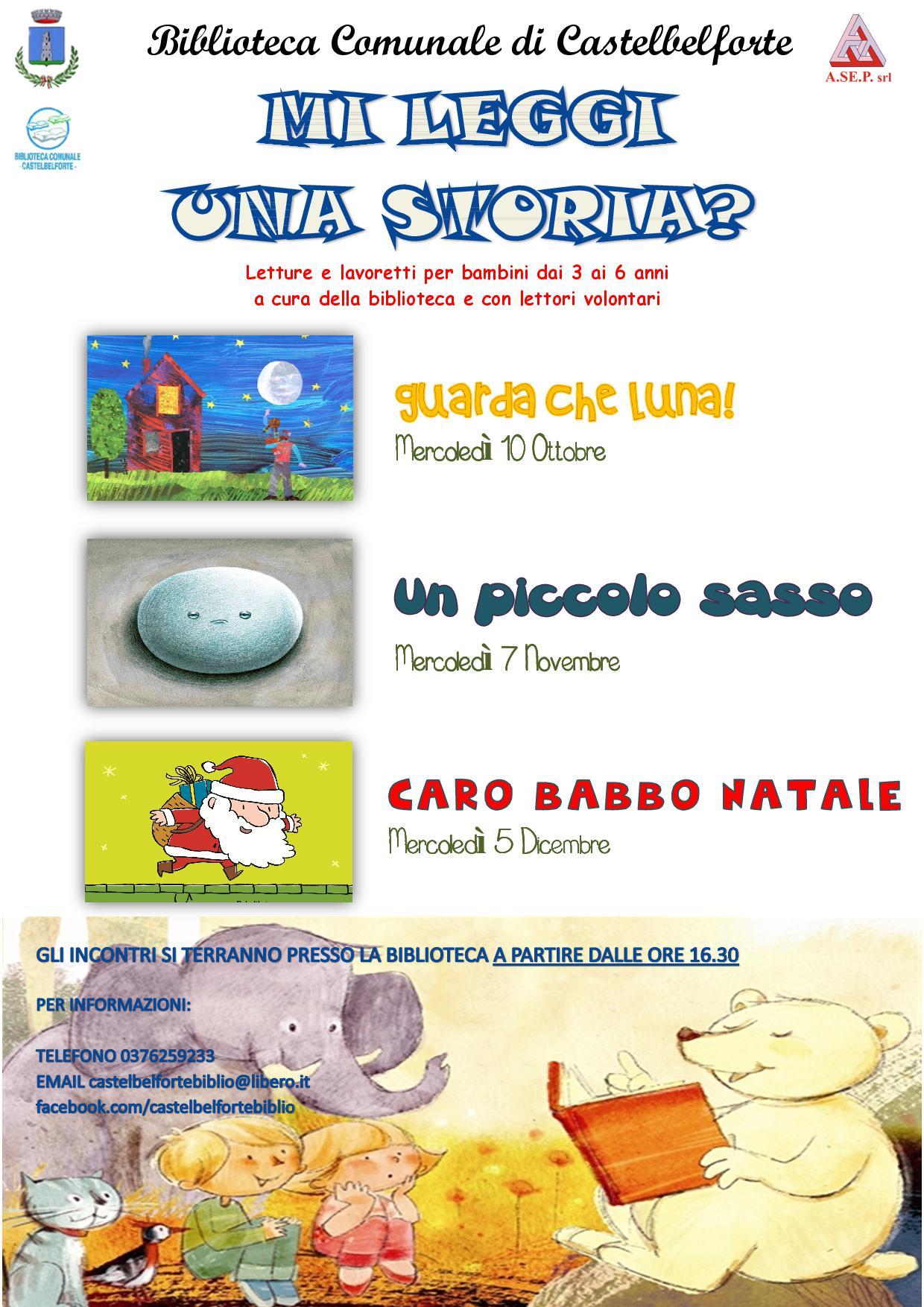 Mi Leggi Una Storia Letture E Lavoretti Per Bambini Dai 3 Ai 6